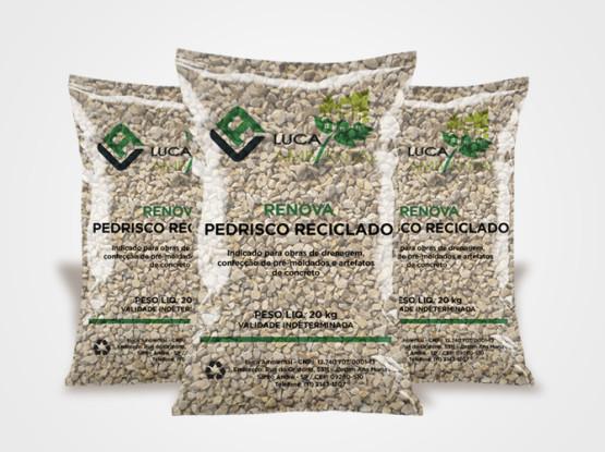 Pedrisco reciclado Renova