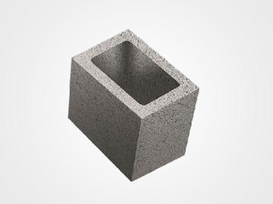 Bloco concreto 1/2  19x19x19