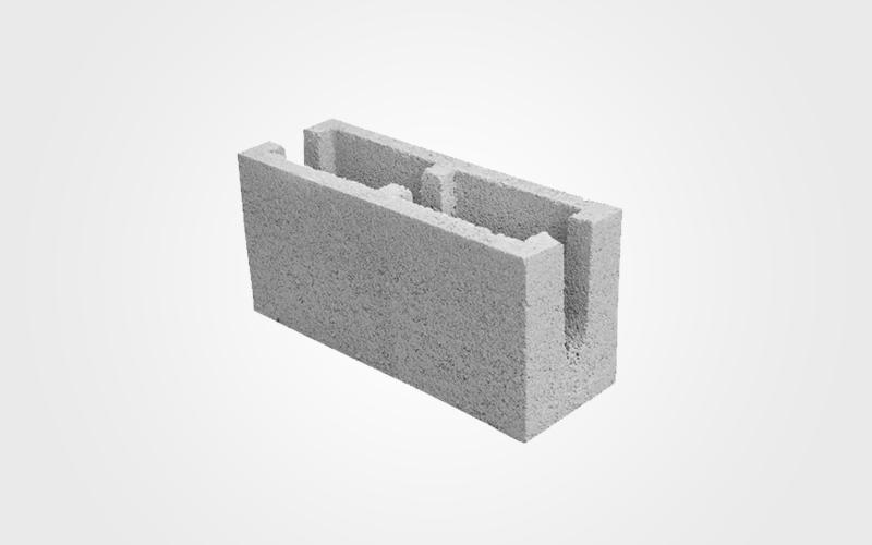 Canaleta concreto 19x19x39