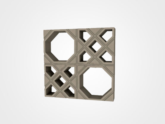 Elemento Vazado Geométrico